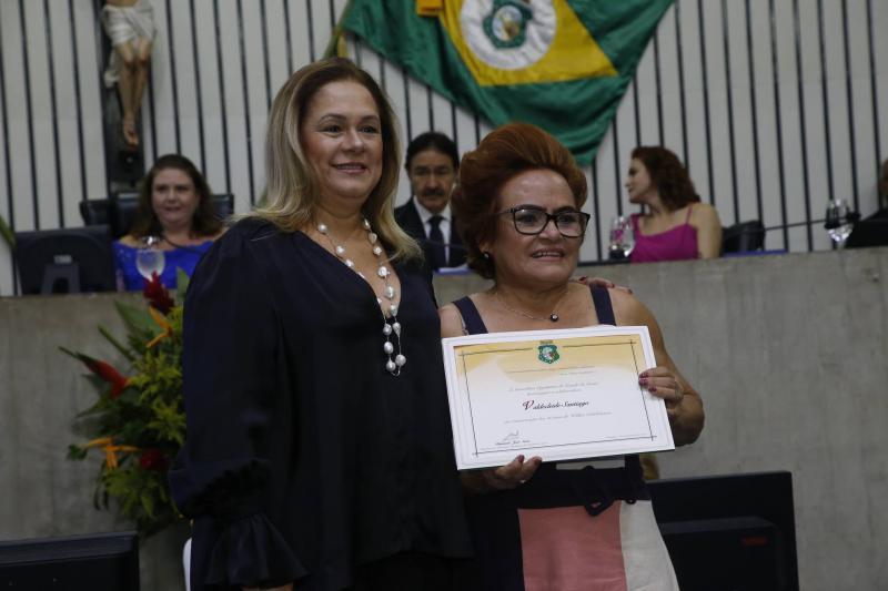 Sarinha Philomeno e Valdecleide Santiago