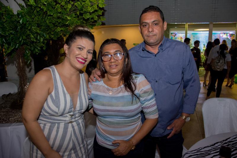 Rubia Oliveira, Margor Modesto e Henrique Camelo