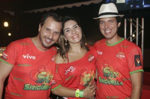Ricardo Bueno, Anne e Leo Alcantara
