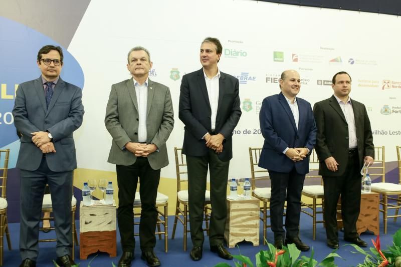 Edilberto Pontes, Sarto Nogueira, Roberto Claudio e Igor Barroso