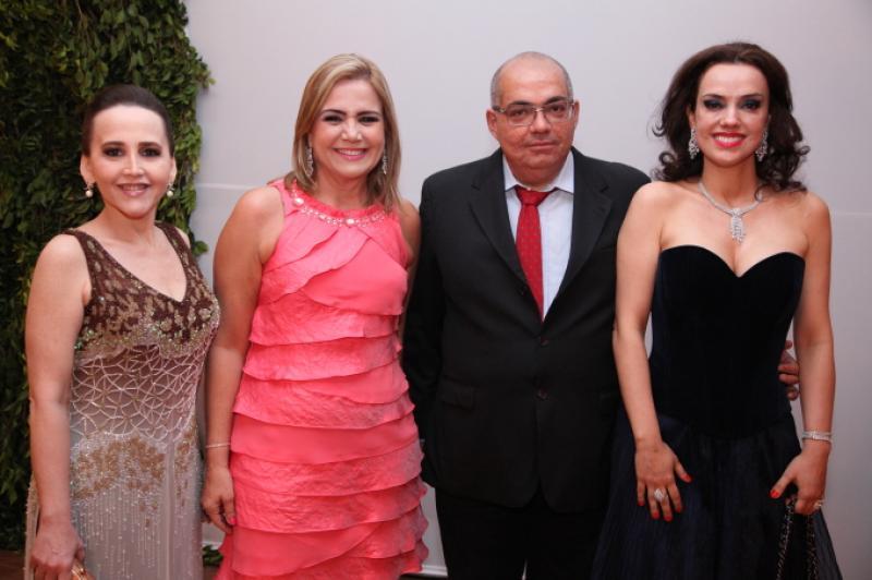 Purcina Porto, Ana Luisa Barreira, Jose Wilson Filho e Andreia Nogueira