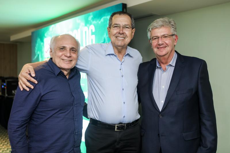 Ricardo Sabadia, Ricardo Parente e Carlos Maia