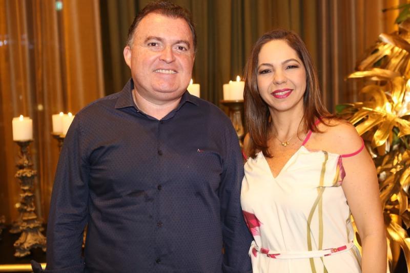 Alano Cunha e Michelle Rabelo