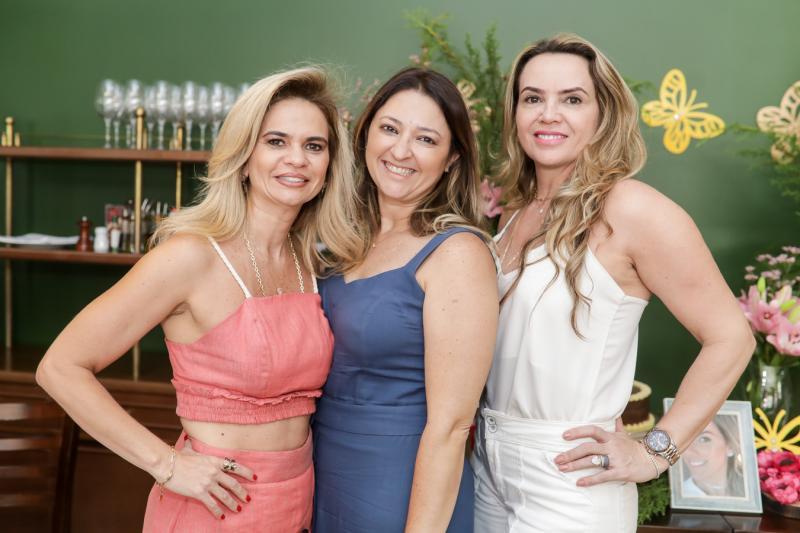 Germana Cavalcante, Harla Pinheiro e Jeane Freire