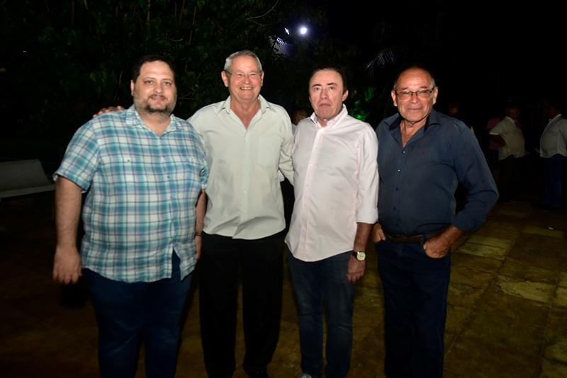 Reinaldo Salmito, Pedro Colaco, Darlan Leite, Vereador Osvaldo