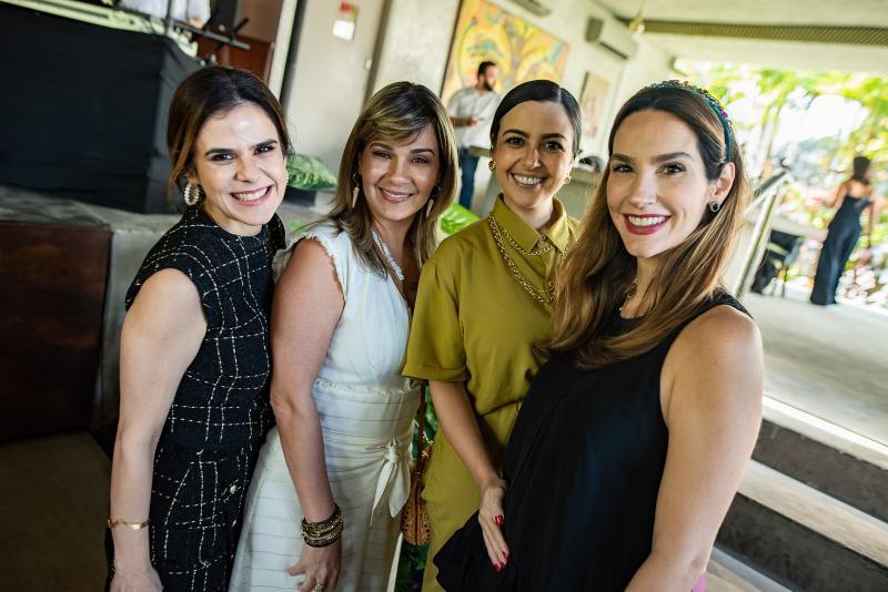 Niedja Bezerra, Jeritza Gurgel, Manu Cysne e Marcella Carvalho