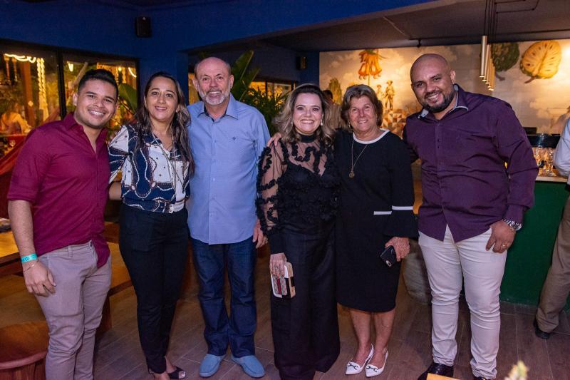 Junior Oliveira, Solange Lemos, Nilton Menezes, Neile Aragao, Ana Lucia Mota e Antonio Felix