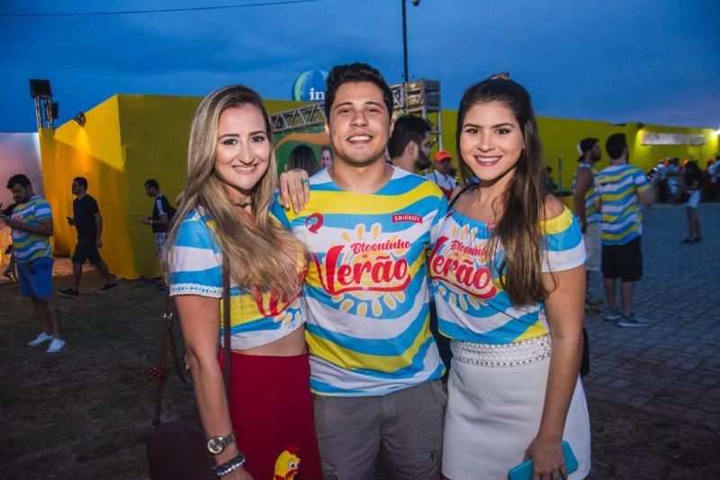 Angela Tavares, Andinho Pacifico e Rachel Fernandes