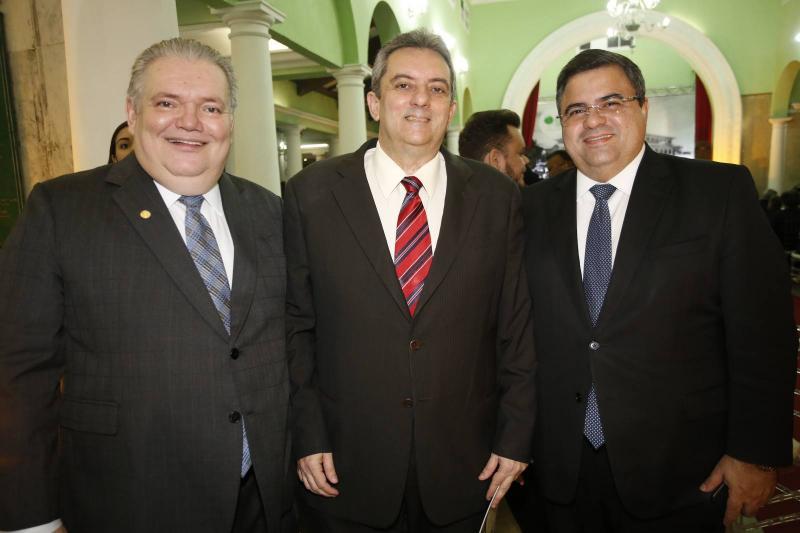 Pedro Jorge Medeiros, Joaquim Guedes Neto e Fabio Timbo