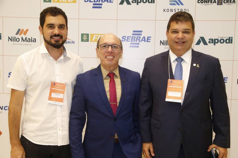 Thiago Vidal, Andre Montenegro e Fabio Ribeiro