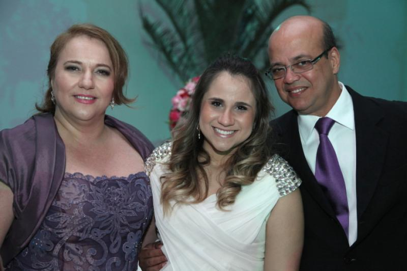 Luiziane, Roberta e Wagner Fernandes