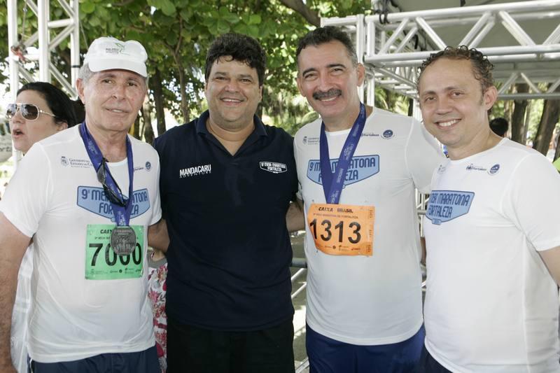General Limaverde, Colombo Cialdini, Artur Bruno e Evaldo Pontes