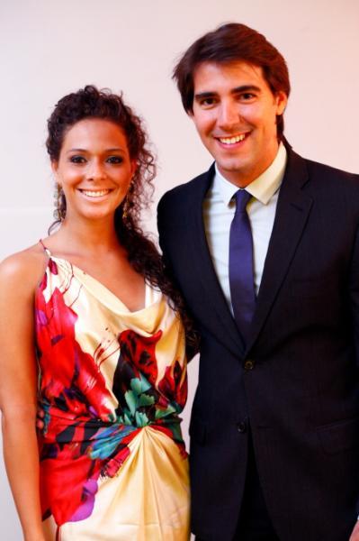 Gabriela Carvalho e Alcir Araujo