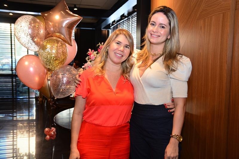 Lourdes Linhares e Lilian Fontele