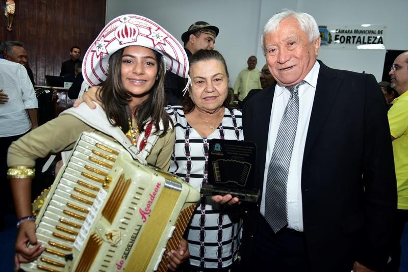 Ana Cecilia, Elza Braga Olinda, Darival Bringel