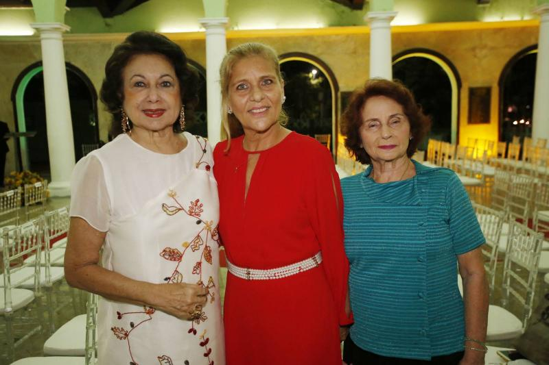 Yolanda Vasconcelos, Yolanda Fialho e Valdenice Queiroz