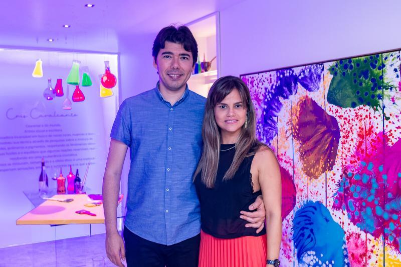 Joao Batista Silveira e Andrea Parahyba