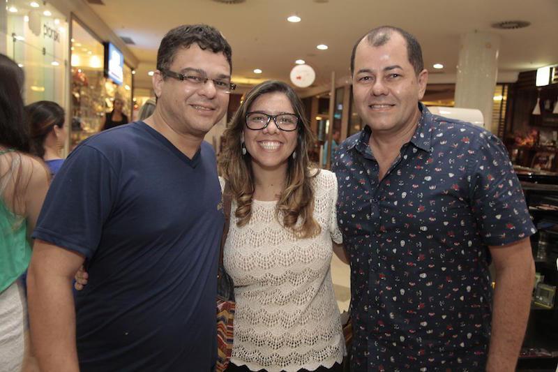 Saulo Monte, Joegeana Campelo e Gilvan Magno