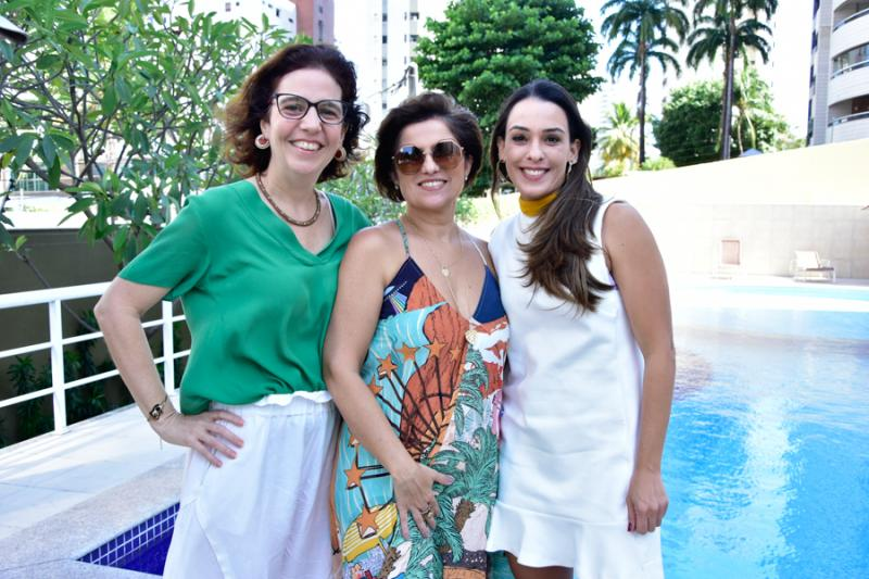 Georgeana Loureiro, Micheline Albuquerque e Melissa Arruda