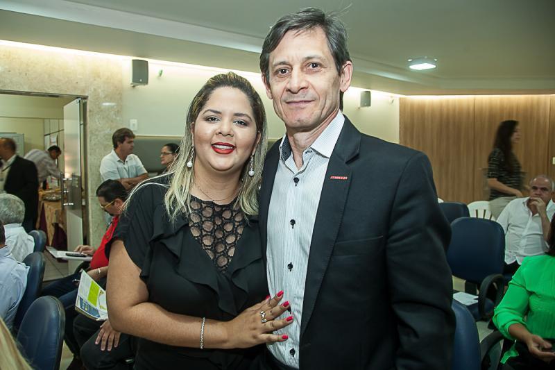 Ana Adelia e Marinaldo Barbosa