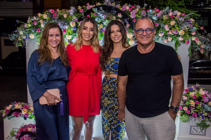 Claudia Moreira, Nathalia Ximenes, Lina Franck e Paulo Fiuza