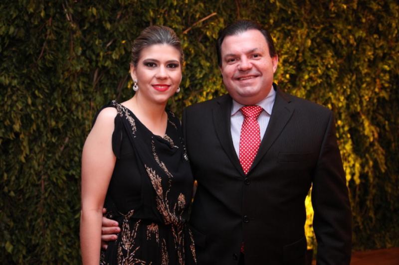 Helide Cabral e Fernando Ferrer