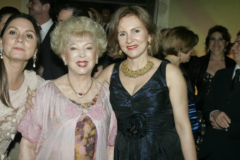 Yolanda Queiroz e Renata Jereissati