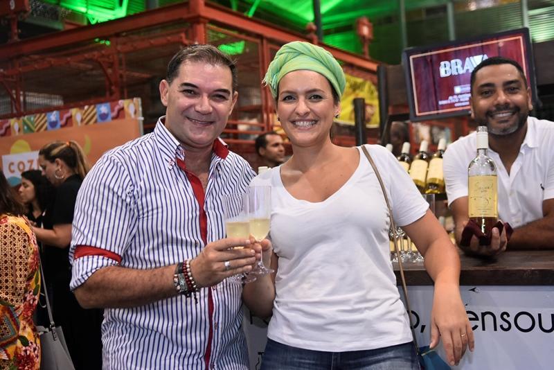 Luciano Rocha e Liliane Pereira