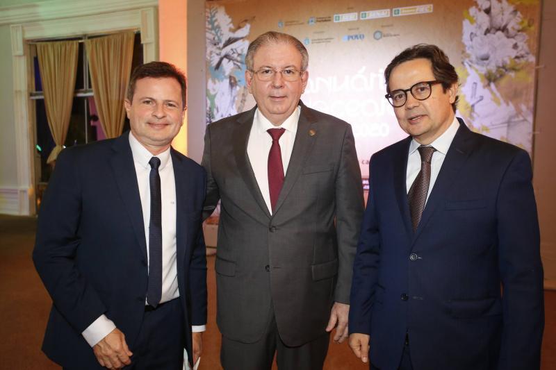 Marcos Andre Borges, Ricardo Cavalcante e Edilberto Pontes