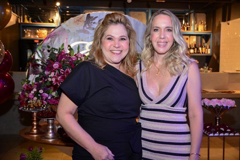 Luciana Pacheco e Erika Figueiredo