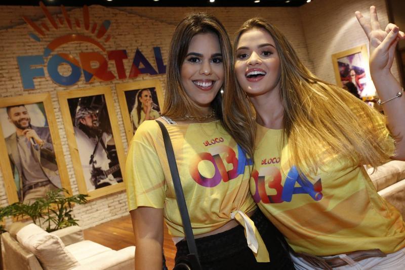 Leticia Nogueira e Amanda Peixoto