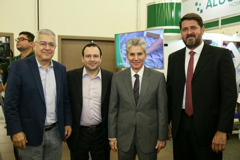 Paulo Cesar Norões, Igor Barroso, Padua Lopes e Rafael Rodrigues