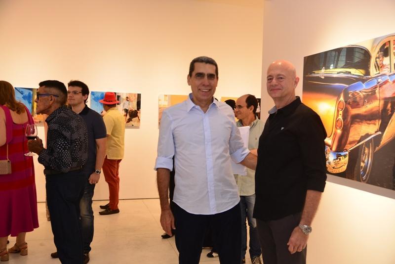 Joao Pontes e Demetrio Jereissati