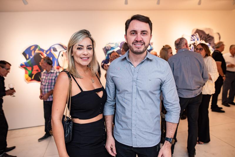 Joyce Gondinho e Welzio Cavalcante
