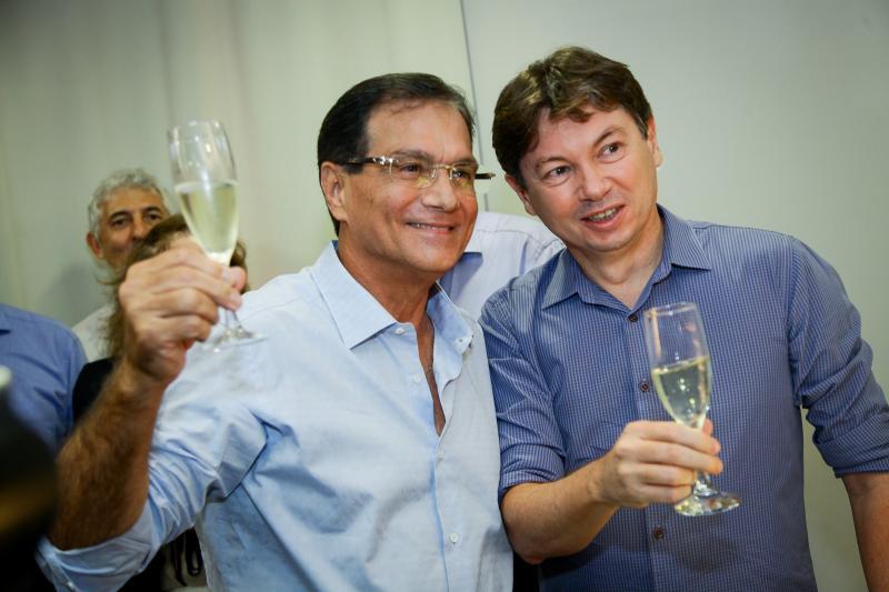 Beto Studart e Edgar Gadelha