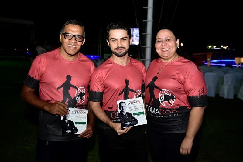 Marcos Avelino, Marcelo Magalhaes. Luana Duarte