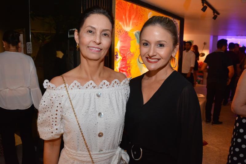 Mirna Aguiar e Claryanne Aguiar