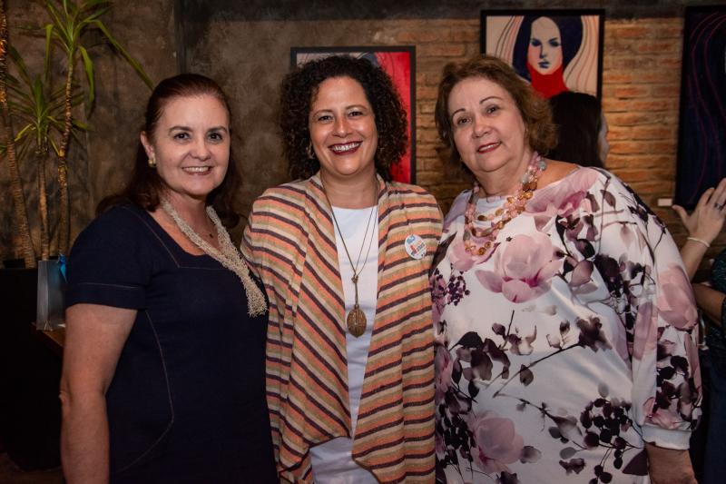 Veronica Barreira, Liana Feingold e Suzanne Vasconcelos