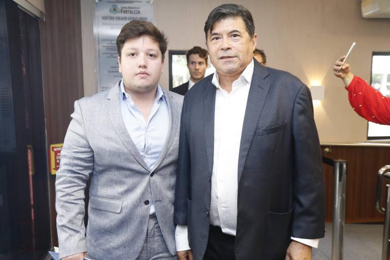Matheus Luca e Carlos Alberto Mesquita