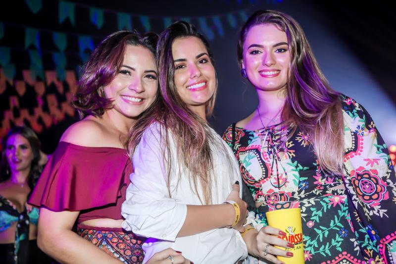 Raissa Rodrigues, Wiliane Passos e Camila Benevides