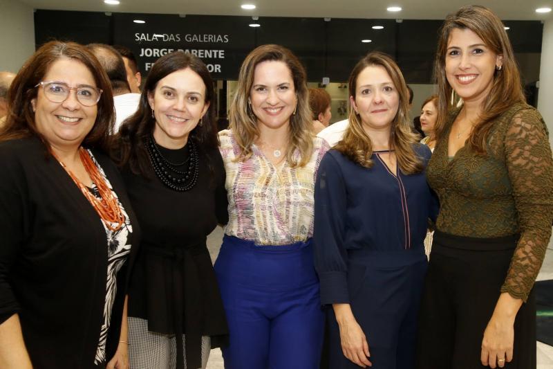 Ana Maria, Veridiana Soares, Juliuana Guimaraes, Raquel Vasconcelos e Beatriz Barreira