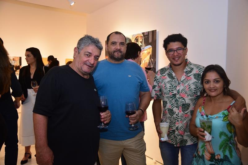Celso Oliveira, Mauricio Coutinho, Elton Gomes e Leny Duarte