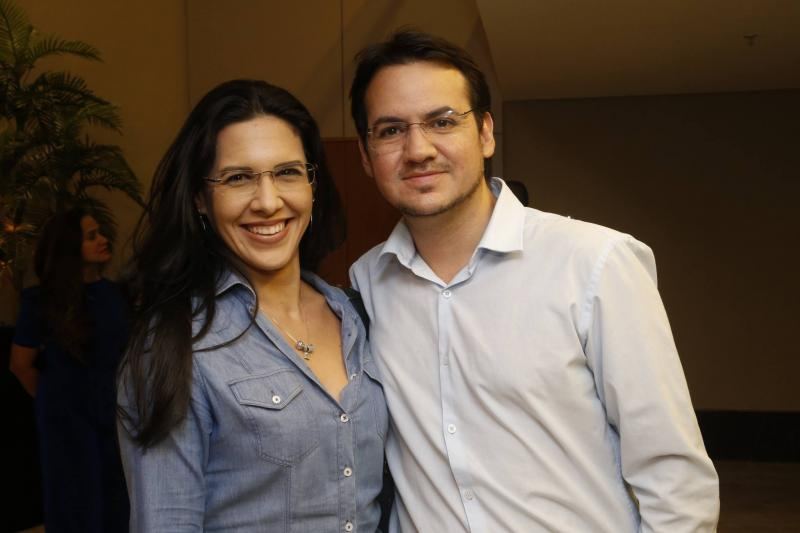 Adriana Pinheiro e Jander Martins