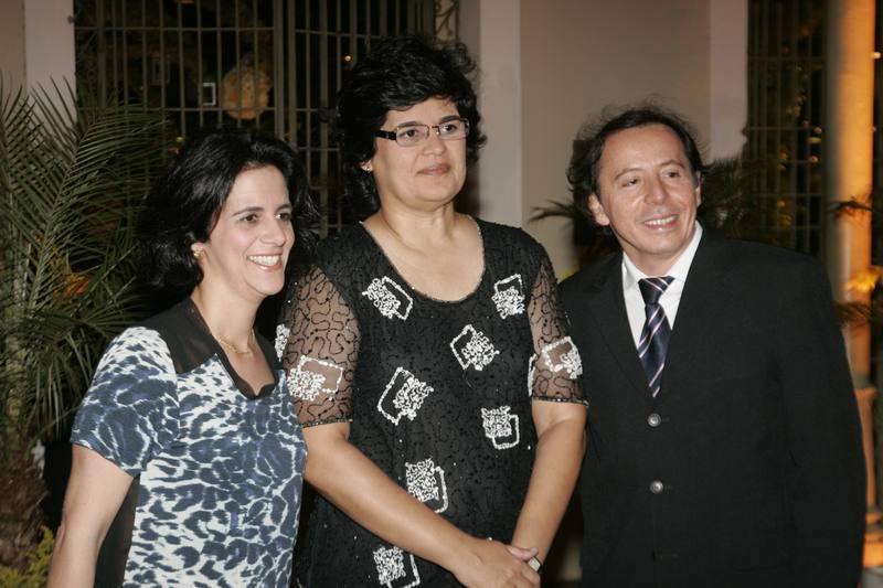 Simone Moura, Cordelia Queiroz e Ildefonso Rodrigues
