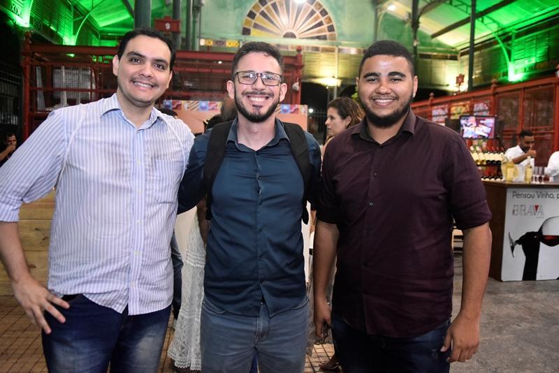Alam Brito, Rodrigo Batista, Eduardo Anselmo