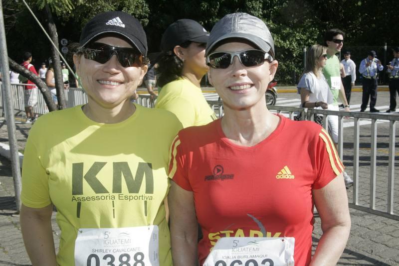 Shirley Cavalcante e Dalia Burlamaque