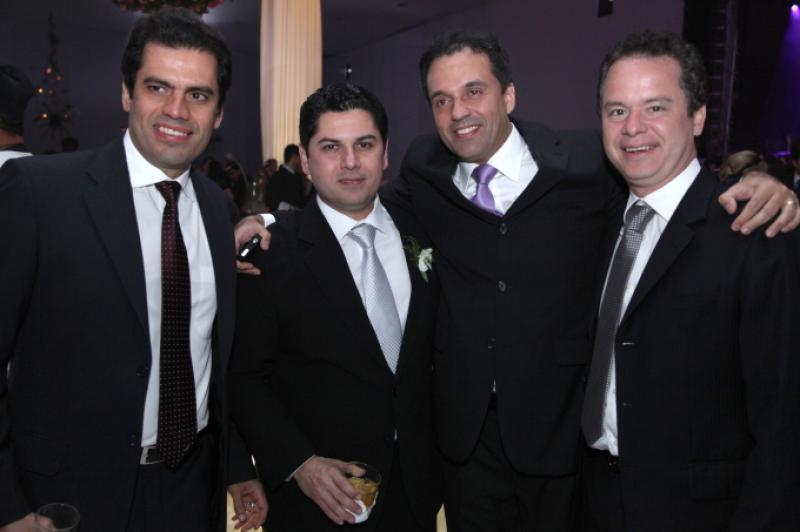Etevaldo Nogueira, Pompeu Vasconcelos, Fernando Novaes e Lisandro Fujita