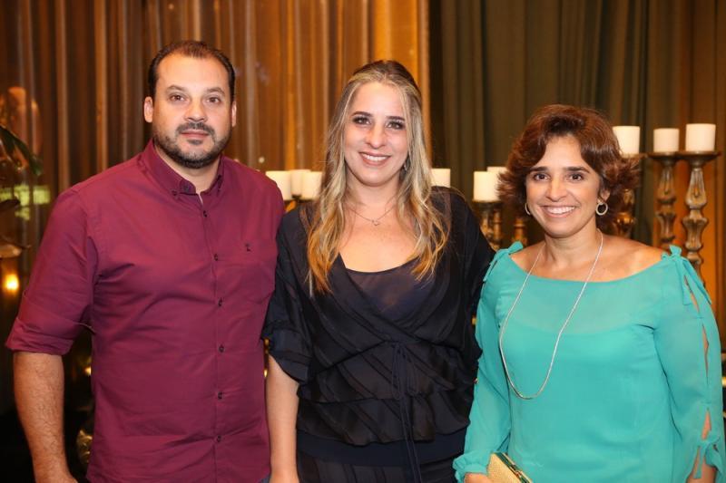 Rui Paiva, Leticia e Claudia Targino