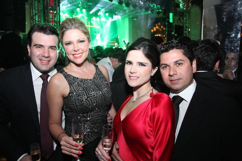 Danilo e Patricia Dias, Marilia e Pompeu Vasconcelos