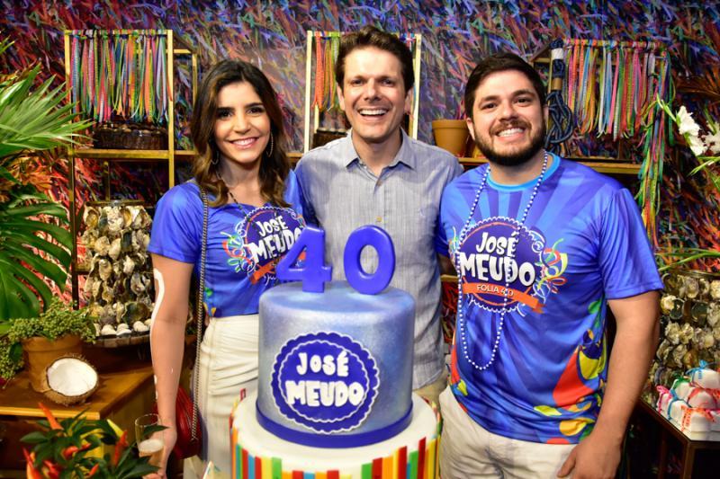 Jessica Porto, Jose Meudo e Guilherme Porto